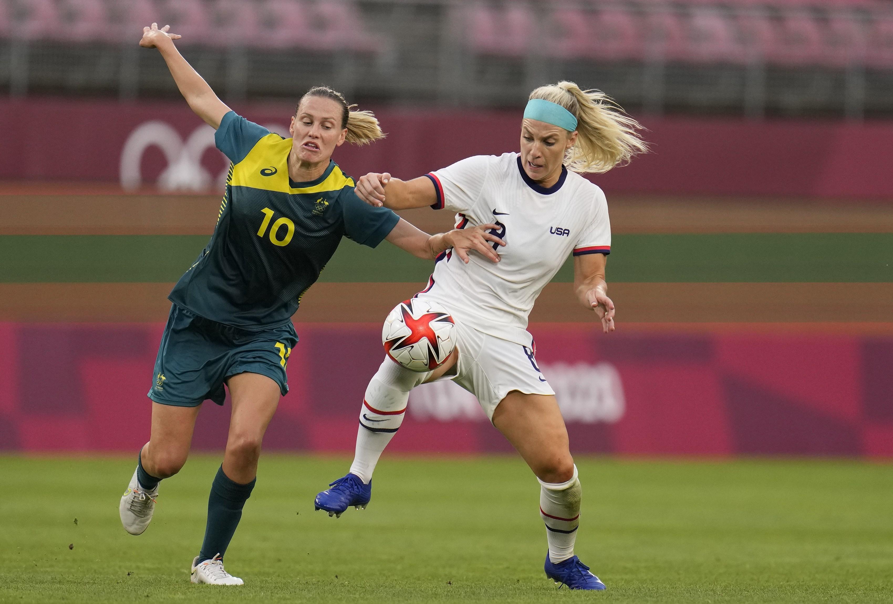 USA Australia odds Olympic women's soccer