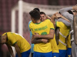 Brazil only beat Mexico on penalties to reach the Olympic final in Tokyo. (Image: Twitter/CBfutebol)