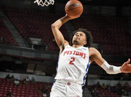 Cade Cunningham from the Detroit Pistons attempts to become the first #1 pick to win the NBA Rookie of the Year since 2018. (Image: Garrett Ellwood/Getty)