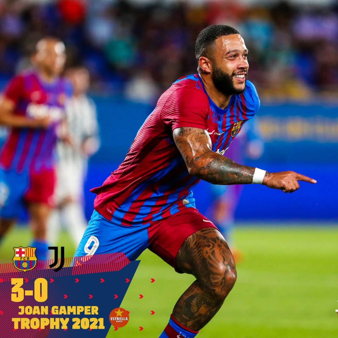 Memphis Depay - FC Barcelona