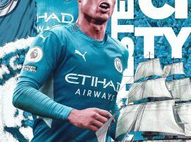 Ronaldo is on the verge of moving to Manchester City. (Image: Twitter/realfutebolnews)