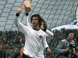 Gerd Muller was an iconic player for both Bayern and the German national team. (Image: Twitter/VBETnews)