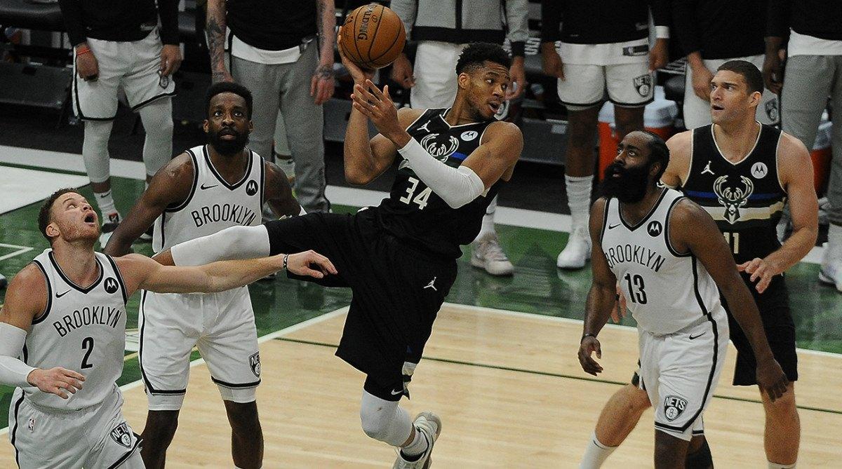 NBA tip-off new season Milwaukee Bucks Brooklyn Nets LA Lakers Golden State Warriors Greek Freak