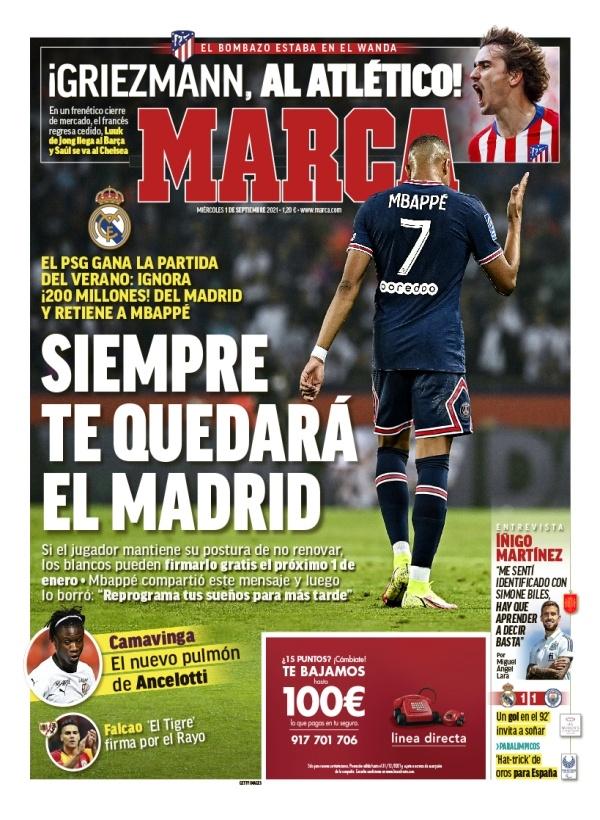 Mbappe Marca