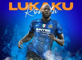 Chelsea will pay a club-record transfer fee of $135 million to sign Romelu Lukaku from Inter Milan. (Image: Twitter/VoleApp)