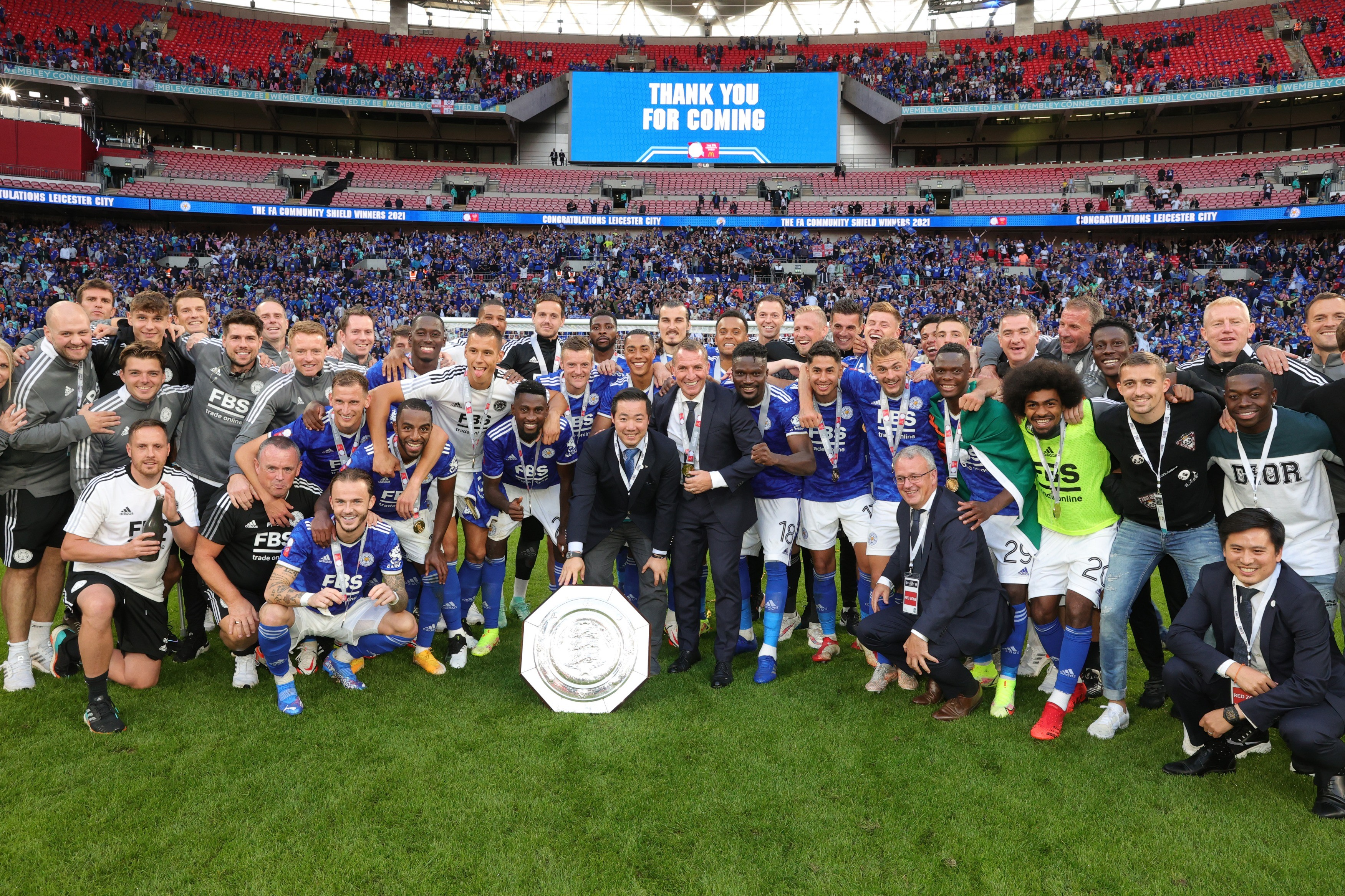 Leicester - Community Shield winners
