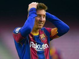 Leo Messi will leave FC Barcelona after 21 years at the club. (Image: Twitter/MirrorFootball)