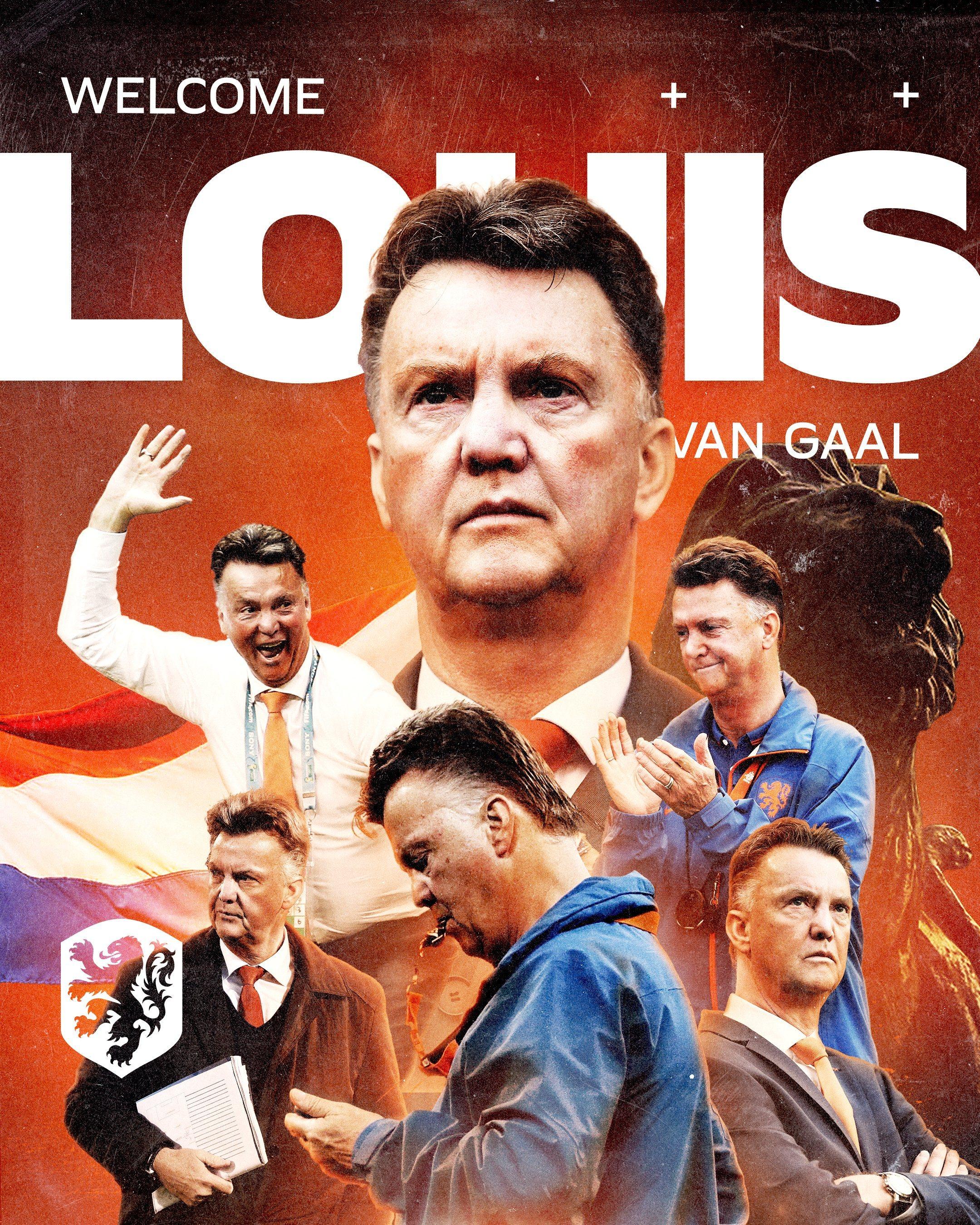 Louis Van Gaal - The Netherlands