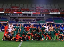 Mexico lost to Brazil after penalties in the semifinals, but left home with the bronze medals. (Image: Twitter/CJasib)