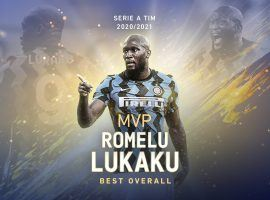 Romelu Lukaku enjoyed a great campaign at Inter, contributing with 24 goals and 11 assists to his team's first title after 2010. (Image: Twitter/Serie A)