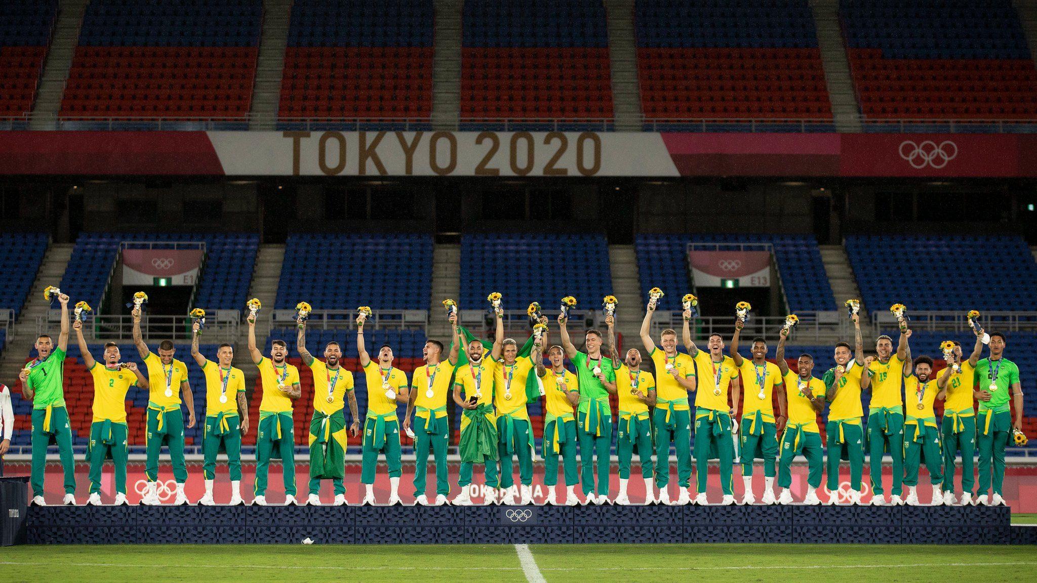 Brazil gold medal