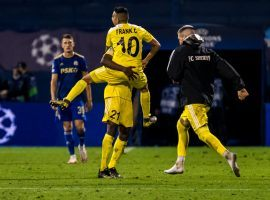 Sheriff Tiraspol will play in the Champions League group stage for the first time in the club's history. (Image: Twitter/ChampionsLeague)