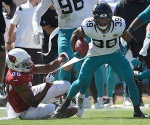 Jamal Agnew Jacksonville Jaguars touchdown TD Return 109 yards FG miss Arizona Cardinals Matt Prater Video