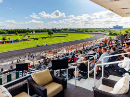 The next time fans watch a sporting event from the former site of Arlington Park International Racecourse, it likely will be Bears instead of horses. The Chicago Bears entered an agreement with track owner Churchill Downs Incorporated to buy the race track property. (Image: Arlington Park)