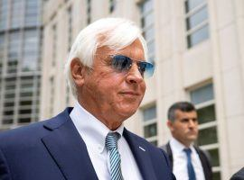 Hall of Fame trainer Bob Baffert faces another challenge from a racing organization. The Breeders' Cup began reviewing his eligibility for this year's Breeders' Cup World Championships. (Image: John Minchillo/Associated Press)