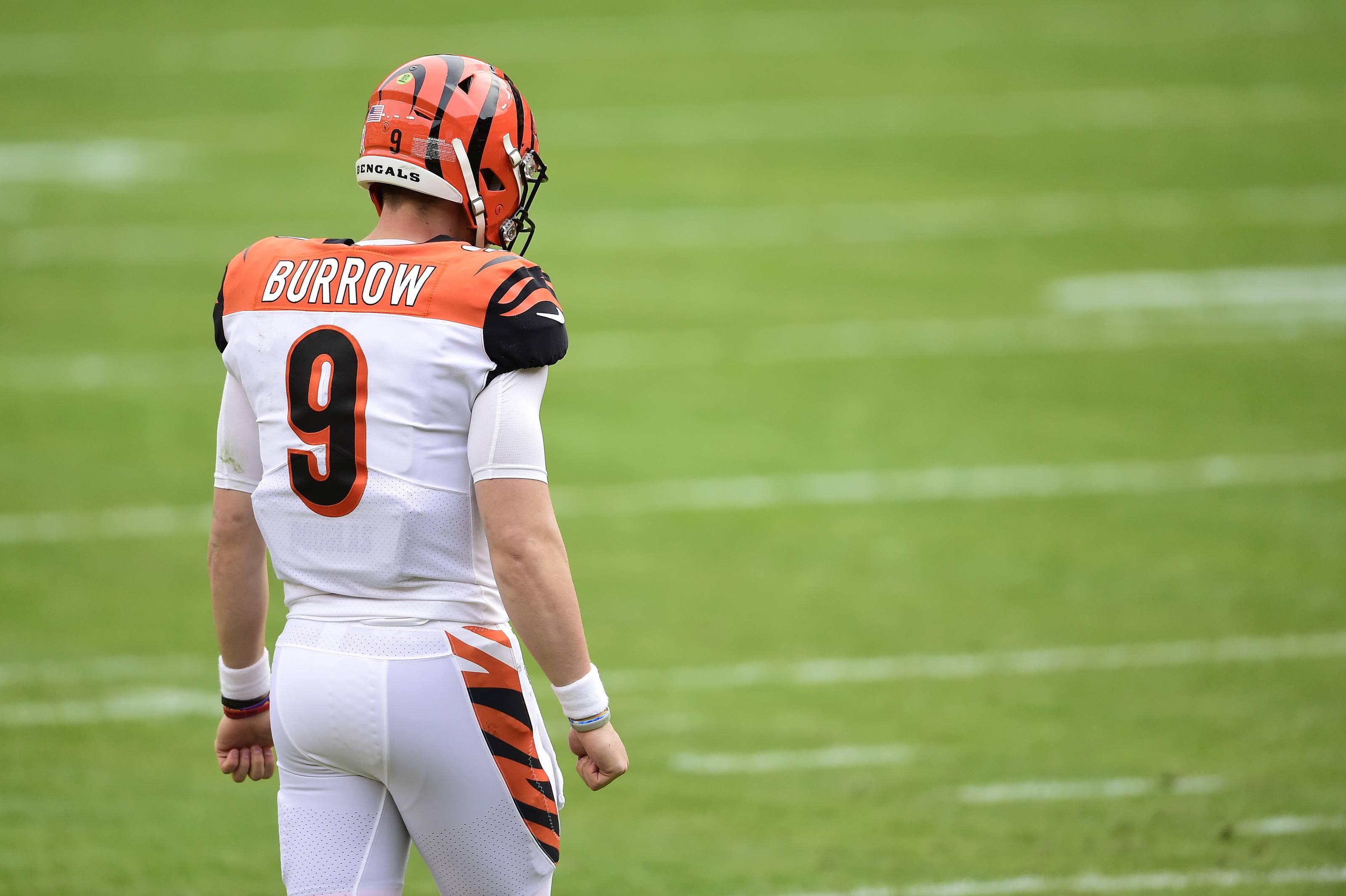 Joe Burrow Cincy Bengals NFL Minggu 1 Hoem Anjing Anjing Texans Colts Giants Lions Raiders
