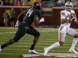 Ohio State quarterback CJ Stroud struggled initially against Minnesota, but shouldn't have problems against Oregon this week. He's a strong DFS pick in Week 2. (Image: Cleveland.com)