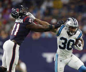 NFL FFL Week 4 Waiver Wire pickups Chuba Hubbard Tim Patrick Dalton Schultz Zack Moss