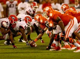 Clemson will host Georgia in a huge Week 1 matchup on the Saturday college football slate. (Image: Streeter Lecka/Getty)