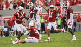 Clemson may have sunk its national championship hopes on Saturday when it lost to NC State in overtime. (Image: Ken Ruinard/Greenville News)
