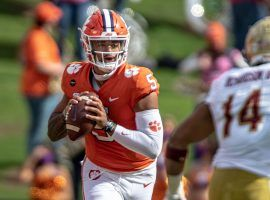 DJ Uiagalelei will take over for Trevor Lawrence at quarterback as Clemson seeks its seventh straight ACC Championship. (Image: AP)