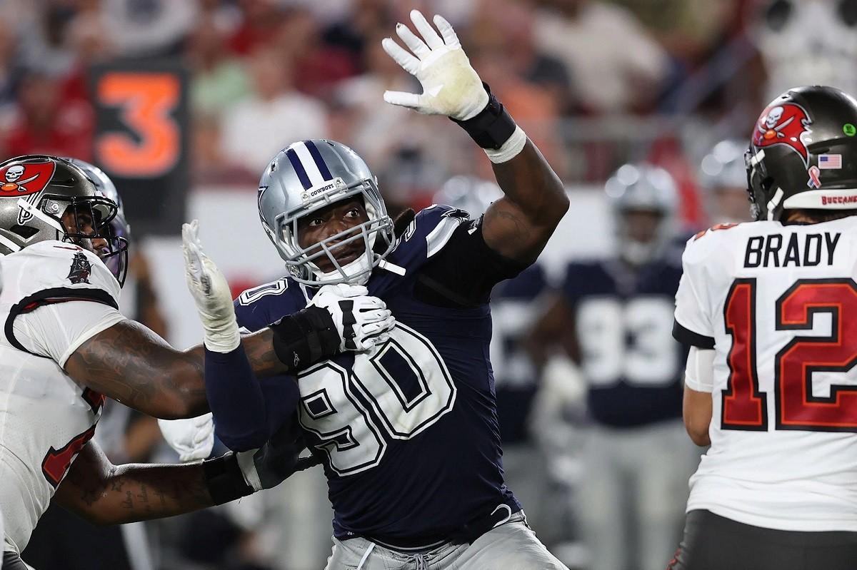 DeMarcus Lawrence Dallas Cowboys injury report broken foot