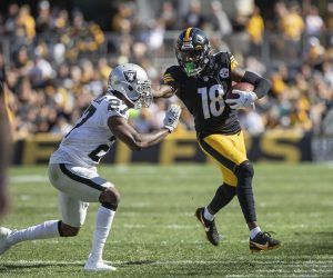 Diontae Johnson injury out Week 3 TJ Watt Pittsburgh Steelers