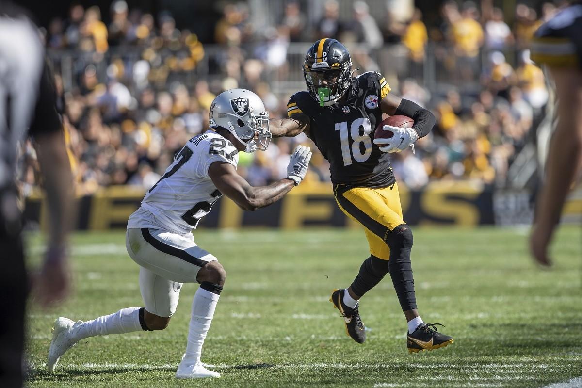 Diontae Johnson cedera Minggu 3 TJ Watt Pittsburgh Steelers