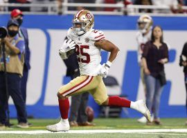 Rookie running back Elijah Mitchell had an auspicious debut with the San Francisco 49ers, which is why he's coveted for Week 2 waiver wire pickups. (Image: Raj Mehta/USA Today Sports)