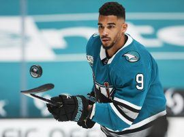 Evander Kane denied allegations that he bets on NHL games and had thrown games because of his gambling. (Image: Matt Cohen/Icon Sportswire/Getty)