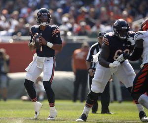 Justin Fields Chicago Bears quarterback QB Week 3 Andy Dalton