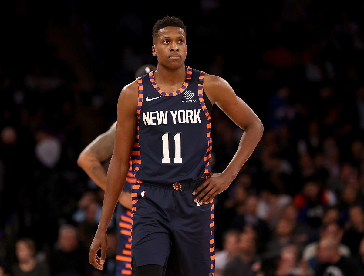 Frank Ntilikina New York Knicks Dallas Mavericks Mavs