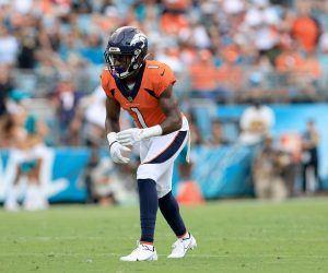 Denver Broncos WR KJ Hamler ACL knee injury