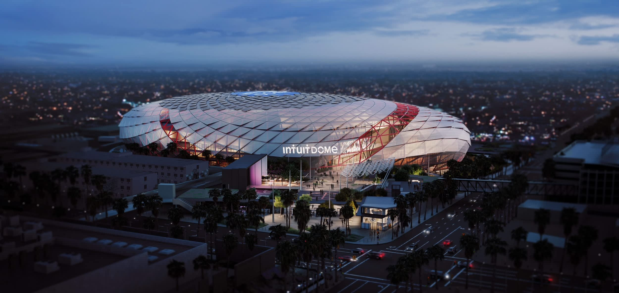 Intuit sets the naming rights record in the NBA