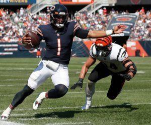 NFL Week 3 list starting starter quarterbacks QB QBs quarterbacks Justin Fields Chicago Bears