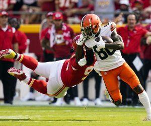 Jarvis Landry WR Injury Knee Cleveland Browns