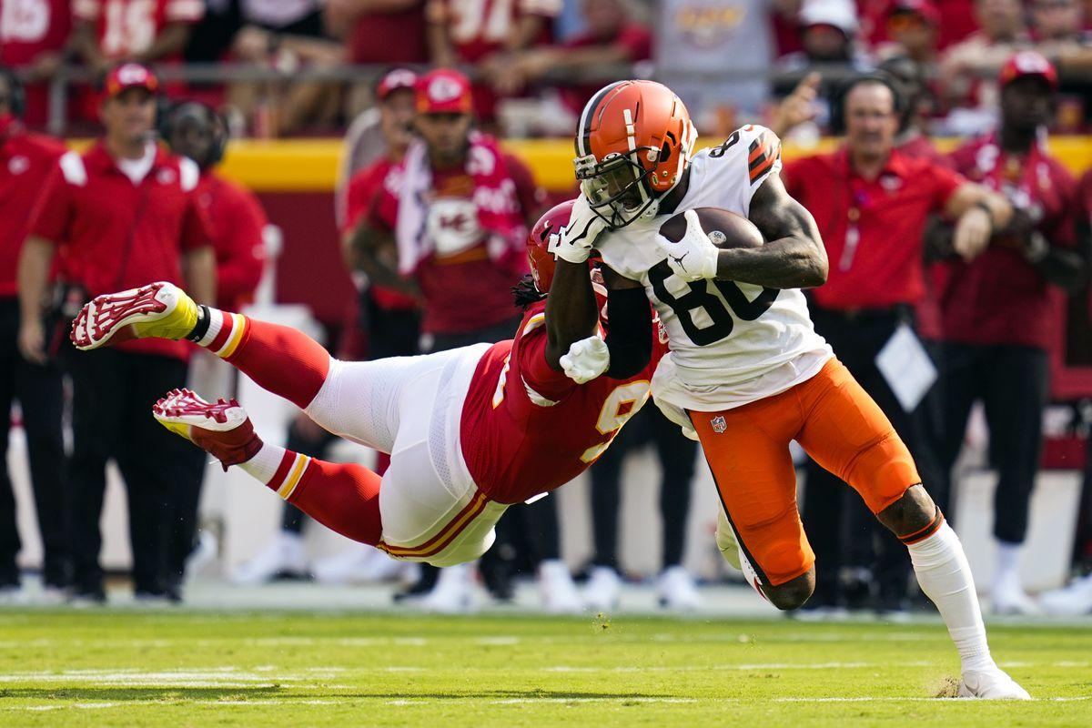 Jarvis Landry WR Cedera Lutut Cleveland Browns