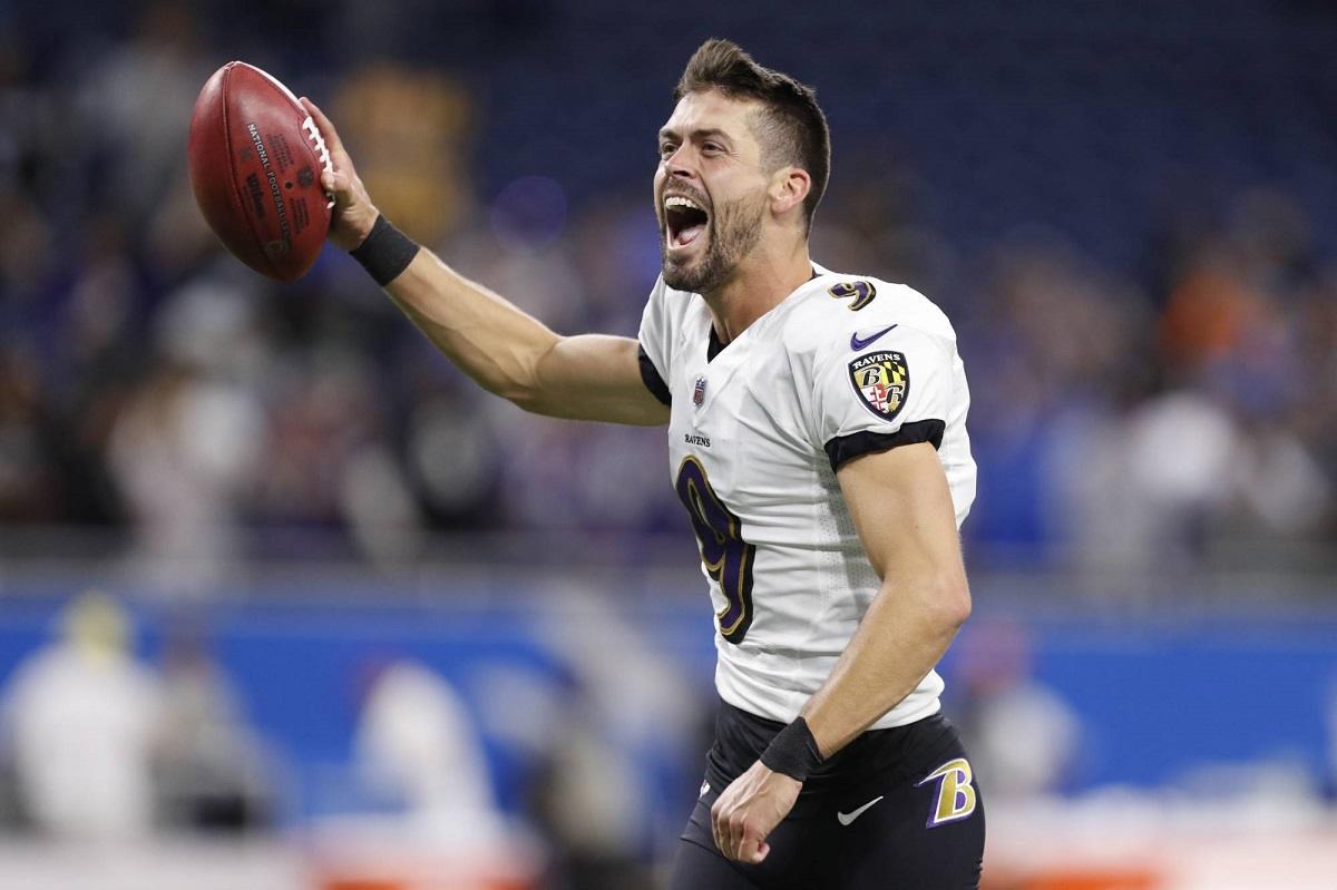 Justin Tucker kicker Madden 22 Football 99 rating Baltimore Ravens