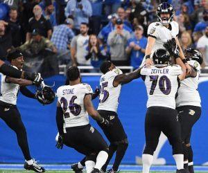Justin Tucker Baltimore Ravens NFL Record 66-Yard Field Goal FG longest NFL history