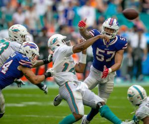 Miami Dolphins backup QB Jacoby Brissett starter Tua out injury