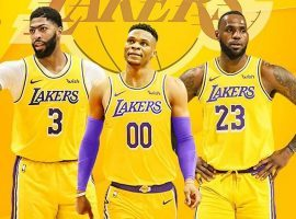 Russell Westbrook joined the Los Angeles Lakers in an offseason trade to create an elite All-Star squad in Tinsel Town alongside LeBron James and Anthony Davis. (Image: LA Lakers)