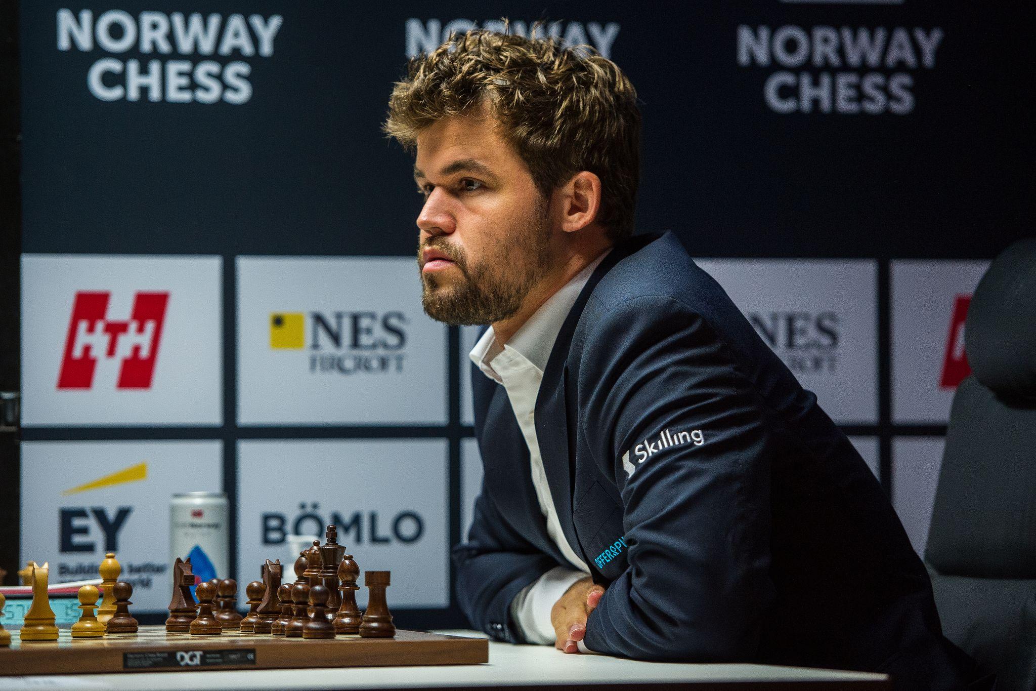 Peluang Catur Norwegia Magnus Carlsen