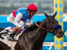 You saw Medina Spirit and John Velazquez capture August's Shared Belief Stakes at Del Mar. You won't see the pair in Saturday's Grade 1 Pennsylvania Derby. Trainer Bob Baffert scratched the Kentucky Derby winner after he drew an outside post. (Image: Benoit Photo)