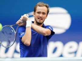 Daniil Medvedev (pictured) knocked off Novak Djokovic in the final of the US Open, but Djokovic remains favored to dominate men's tennis in 2022. (Image: USA Today)