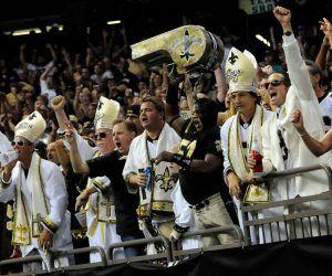 New Orleans Saints Superdome fans return Hurricane Ida