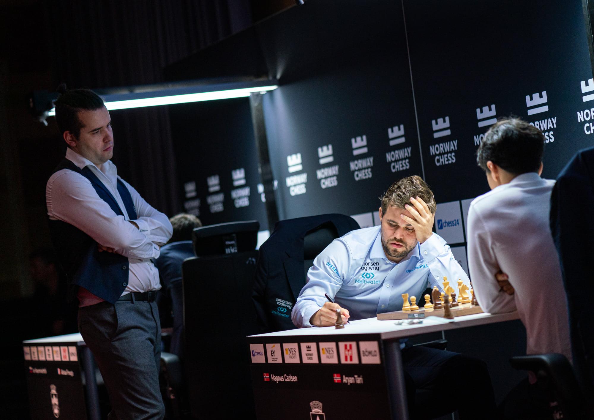 Peluang Catur Norwegia Carlsen Nepomniachtchi