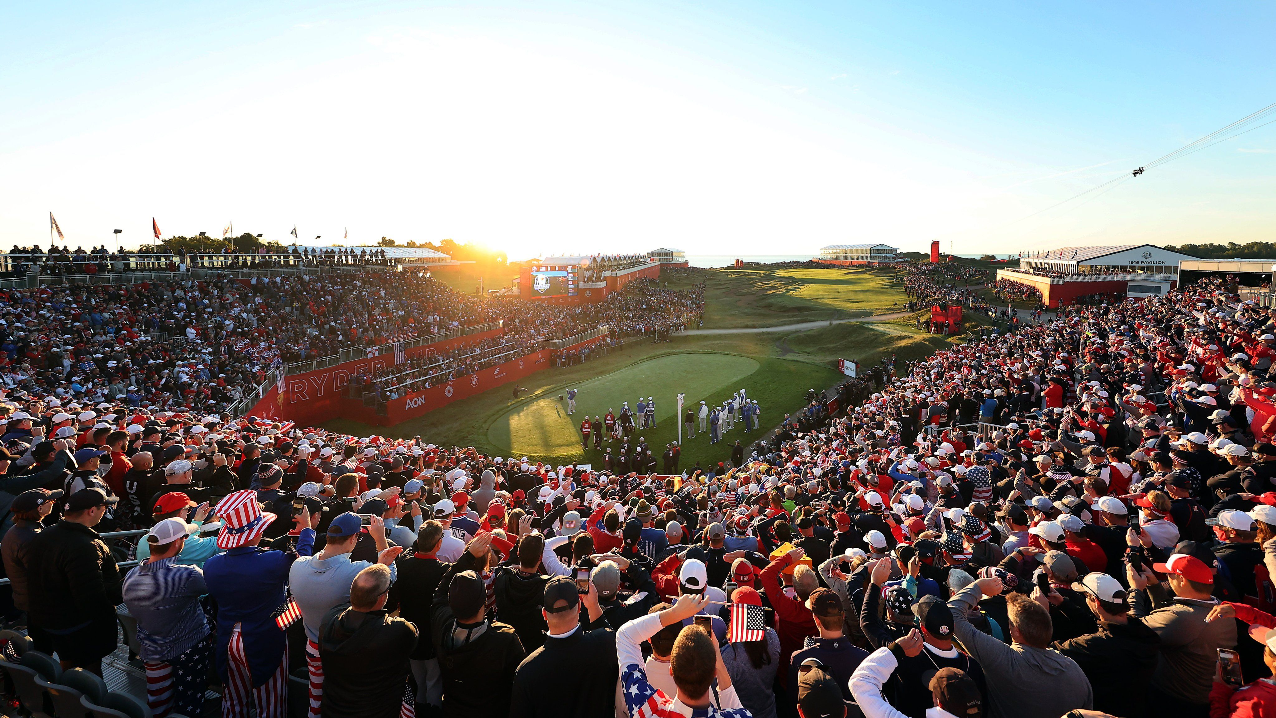 Peluang Ryder Cup Friday fourball
