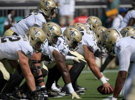 The New Orleans Saints offense in action against the Green Bay Packers in Week 1 in Jacksonville, Florida. (Image: Phelan M. Ebenhack/AP)