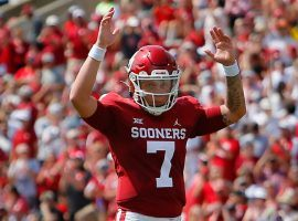 Oklahoma should put up big points on Tulsa this week, which bodes well for quarterback Spencer Rattler's success in college football DFS. (Image: FiveThirtyEight)