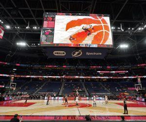 Toronto Raptors pandemic home games Canada Tampa Bay